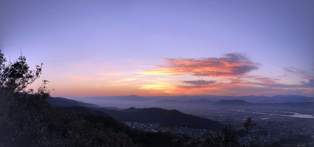 Sunrise Hiking in WAKAYAMA City